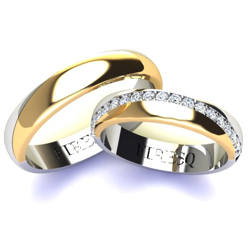 Wedding Rings VA97GL