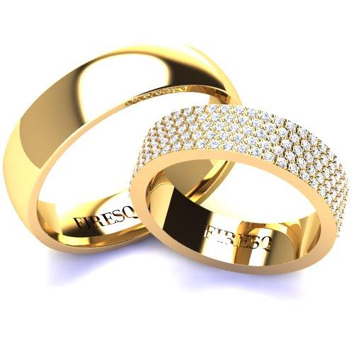 Wedding Rings VA98GL