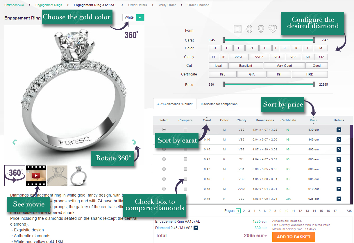 Buying an Engagement Ring - how to step one